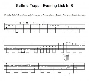 Guthrie Trapp Lick